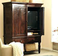 Computer Armoire With Pocket Doors Armoire Solid Wood Armoires Medium Size Of Furniture Wardrobe