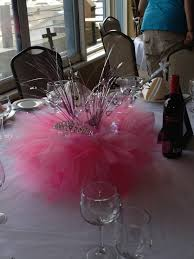 another view of center pieces another view of my tutu centerpieces baby shower