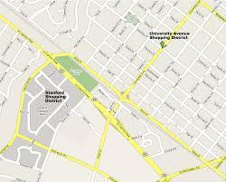 Sf District Map Palo Alto Shopping District Sfbayshop Worldtravelshop