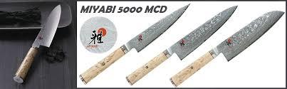 meilleur couteau de cuisine couteaux de cuisine japonais miyabi 5000mcd