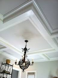 Coffered Ceiling Lighting by Bathroom Coffered Ceiling Construction Coffer Ceiling And