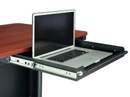 Laptop Holder For Desk Desk Laptop Tray Sliding Keyboard Tray With Steel Enclosure