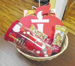 heart healthy gift baskets scworks paints the town union daily times