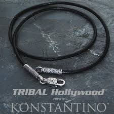leather cord necklace mens images Leather necklaces for men tribal hollywood jpg