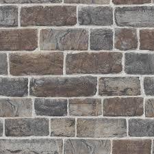 stone brick urban stone brick wallpaper in natural 217339