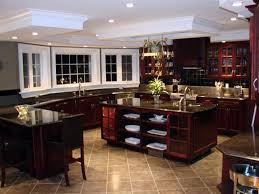 colors for a kitchen with dark cabinets kitchen floor tiles that match cherry wood cabinets kitchen