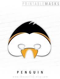 crow mask halloween penguin mask king penguin emperor penguin mask bird mask