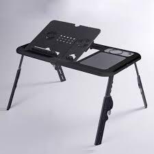 mini bureau ordinateur mini bureau d ordinateur pliable table réglable en hauteur canapé