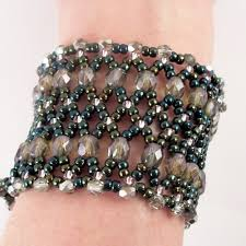 beaded cuff bracelet patterns images Accessorise your arms cuff it up jpg