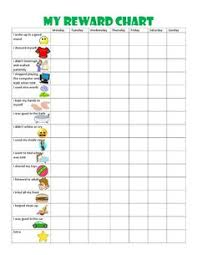 free printable toddler behavior chart for 1 2 3 4 and 5 year