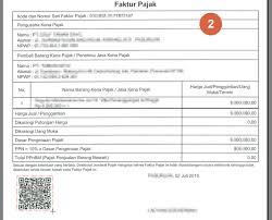 cara membuat faktur pajak untuk uang muka software validasi faktur pajak dari e faktur berbasis qrcode my