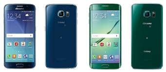 Samsung S6 Docomo samsung drops its logo from the japanese galaxy s6 and s6 edge