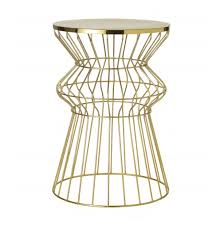 Gold Accent Table And The Gold Medal Goes To This Threshold Accent Table See