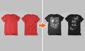 photoshop men u0027s t shirt flat templates pack