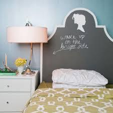 tete de lit chambre ado chambre enfant chambre ado fille tête lit peinture tableau noir