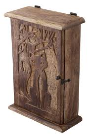 wooden home decor items wholesale hand carved 10 u201d wall hanging mango wood key holder box
