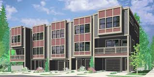 Multiplex Floor Plans 5 Plus Multiplex Units Multi Family Plans