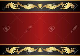 maroon and black background with gold ornaments royalty free