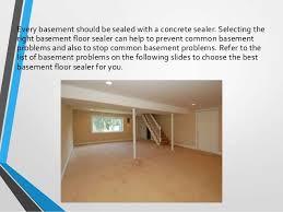 Concrete Sealer For Basement - basement floor sealers