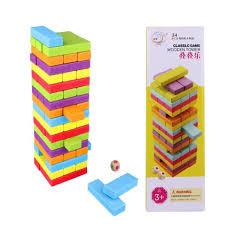 Dinette En Bois Janod by Cubes De Construction En Bois Achat Vente Jeux Et Jouets Pas Chers