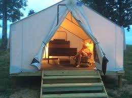 platform tents twin islands trails llc