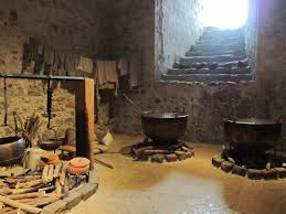 inside a castle in the old town easily reached on foot from the