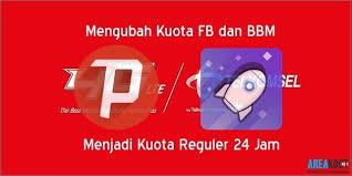 kuota bbm dan fb telkomsel cara menggunakan kuota fb dan bbm menjadi kuota reguler 24 jam