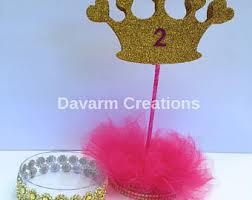crown centerpieces etsy