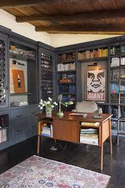 eclectic office and study in los angeles ca by deirdre doherty