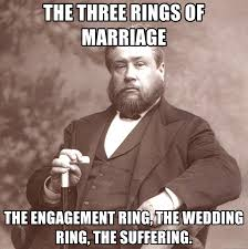 Engagement Meme - the three rings of marriage the engagement ring the wedding ring