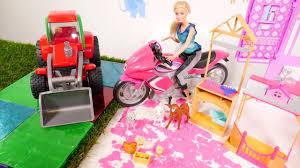 barbie videos for girls animals in barbie dreamhouse barbie