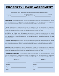 simple residential lease agreement template templates for