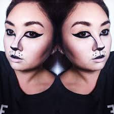 halloween black cat makeup tutorial youtube