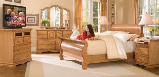 Oak Sleigh Bed Sleigh Beds Oak Sleigh Bed Traditional King American Made