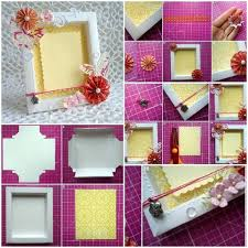 Cool Crafts To Make For Your Room - best 25 cardboard picture frames ideas on pinterest foam board