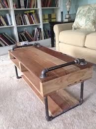 handmade wood coffee table design of handmade coffee table handmade industrial pallet coffee