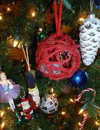 activities yarn ornaments soccer style