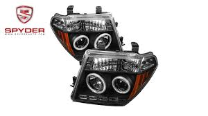 nissan frontier led headlights spyder nissan frontier 05 08 nissan pathfinder 05 07 projector