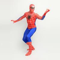 cheap full body spiderman costumes free shipping full body