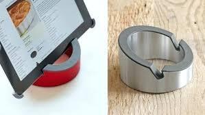 tablette pour cuisine support tablette pour cuisine gadgets cuisine support a tablette