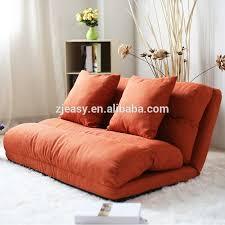 korean style fabric folded sponge floor sofa with 5 positions