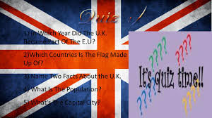 Why Is The Flag Why When Did The U K Join E U Quick Facts On The U K Ppt