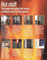 security fire doors shield nw security doors windows u0026 panic