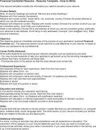 assistant controller resume samples resume job responsibilities examples job description on resume