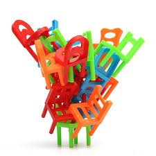 Red Kids Desk by 18x Plastic Balance Toy Stacking Chairs For Kids Desk Play Game