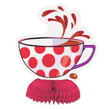 mini mad hatter tea party table centerpieces alice in wonderland