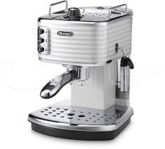 espresso coffee de u0027longhi ecz351 w scultura traditional pump espresso coffee