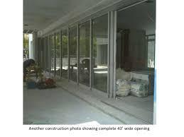 glass doors miami fleetwood sliding glass doors miami beach