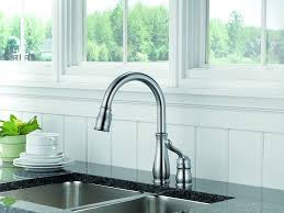 how to save water in the kitchen kitchen faucet tweaks and this water efficient faucet features a high arc spout which can swivel through a full 360 degrees to allow for complete access to the entire sink for better