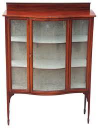 Oak Glazed Display Cabinet Antique Display Cabinets The Uk U0027s Premier Antiques Portal